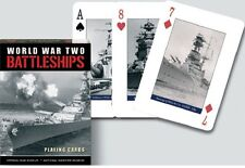 Playing Cards Battleships World War Two by Piatnik Each Card is Different New