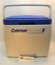 Vintage 1980's Coleman Personal 8 Portable Travel Water Cooler Ice Chest #5272