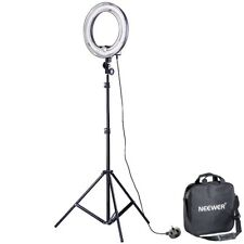 """Neewer 14"""" 400W Studio Undimmable Fluorescent Flash Ring Light with Lamp 50w"""