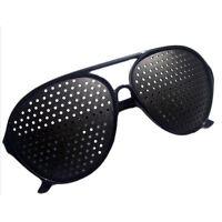 Nadelöhr Brille Raster Lochbrille Pinhole Glass Rasterbrille Augentrainer-PAL