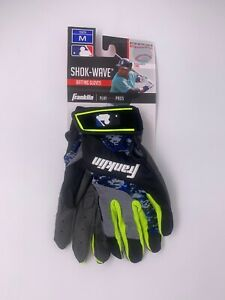 Franklin Shok-Wave Youth Batting Gloves ~ YOUTH Medium NWT