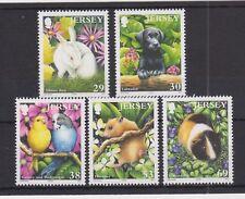 JERSEY MNH UMM STAMP SET 2003 SG 1112-1116 Pets