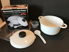 Microwave Pressure Cooker -BC Classics Plastic Model BC-16330 -NEW
