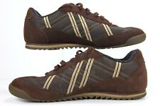 Tommy Hilfiger Men's Sneakers Size 11M Brown  TM27985 H-8 CH103 Leather & Fabric