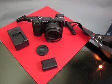 Nice Sony Alpha a6000 24.3 MP Digital Camera Body EPZ 16-50mm f/3.5-5.6 OSS Lens