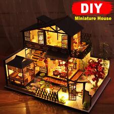 Bastelset Miniatur Puppenhaus Kit DIY Holz Haus Miniature Dollhouse