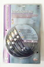 Monster Cable Interlink 400 MKII Advanced Performance Audio Interconnect Cables