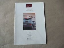 ROVER MINI METRO 800 200 400 Accessories Catalogue Brochure Prospekt Dépliant GB