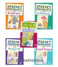 Urgency Emergency!1-5 Big Bad Wolf,Itsy Bitsy + by Dosh Archer (5 Hardcover Set)