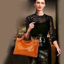 Women Genuine Leather Handbag Satchel Shoulder Bag Tote Messenger Hobo Bags New