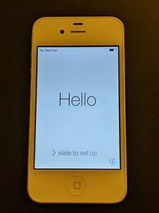 Apple iPhone 4 - 8GB - White (EE) A1332