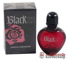 Black Xs By Paco Rabanne 1.7oz EDT Spray For Women New In Box