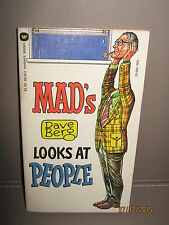Mad magazine paper back book Dave berg looks at people 1980 Very good cond