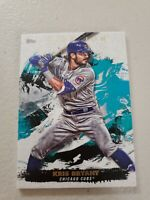 Kris Bryant 2021 Topps Inception Baseball Card #70 Chicago Cubs