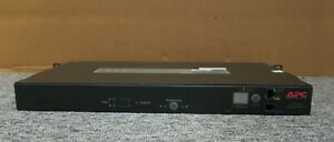 APC AP7723 Rack Automatic Transfer Switch 20A/208V 16A/230V (8)C13 (1)C19 1U ATS