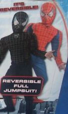 Spiderman The Movie Black & Red Reversible Costume size 4-6 Small New Boy Child