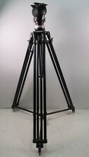 Miller Camera Support Professional Tripod 2 Stage w/ Spreader Vintage Heavy Duty