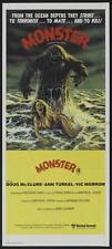 HUMANOIDS FROM THE DEEP Movie POSTER 14x36 Insert Doug McClure Ann Turkel Vic