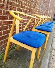 Danish dinning chairs/K.Hoffer Larsen dinning/vintage chairs