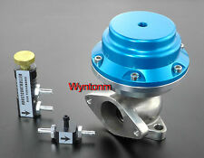 38MM 14-25 PSI External Wastegate Turbo Stainless Steel Valve Blue II + MBC