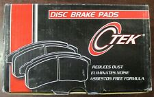 BRAND NEW C-TEK FRONT BRAKE PADS 102.00380 / D38 FITS VEHICLES ON CHART