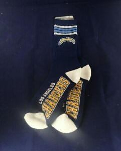 Los Angeles Chargers FBF ORIGINALS Full Length Socks (LARGE SIZE 10-13)BRAND NEW