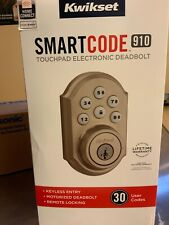 NEW Kwikset 910 Z-Wave Contemporary SmartCode Electronic Touchpad Bronze
