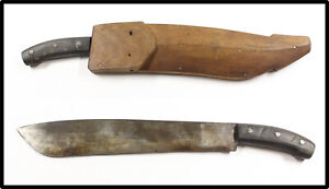 Vintage post WWII Philippines bolo knife machete HEAVY SOLID LOOK NICE