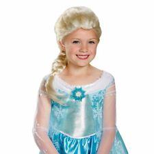 Walt Disney Blond Frozen ELSA WIG Halloween Costume Accessory