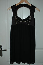 ASOS Stunning Black Halter Neck Evening Dress UK 8