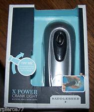 X POWER CRANK LIGHT - Saddlebred - No batteries! - Crank 1 min for 30 mins light