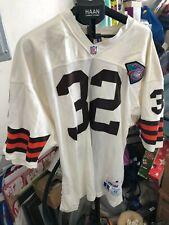 Vtg OG 1994 Jim Brown NFL 75th Anniversary Cleveland Browns Jersey 48 Pro Line