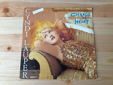 Cyndi Lauper - Change Of Heart (45 T)
