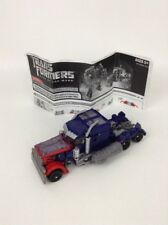 Hasbro Transformers DOTM Optimus Prime Deluxe Action Figure With Instructions