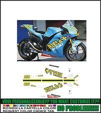 kit adesivi stickers compatibili gsxr 600 750 1000 rizla moto gp