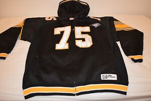 VTG Mitchell & Ness  Pittsburgh Steelers # 75 Mean Joe Green Throwback Jacket 60