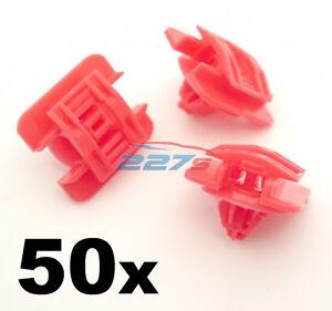 50x porte clip, pinces de garniture moulures latérales pour Renault Clio MK1 (