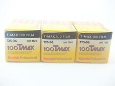3 x KODAK TMAX 100 35mm 36 Exp CHEAP BLACK & WHITE FILM By 1st CLASS ROYAL MAIL