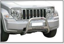 JEEP CHEROKEE 2008 BULL BAR MIRROR INOX 60 LUCIDO C/SCRITTA