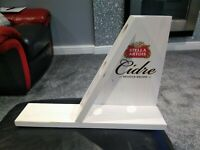 Stella Cidre Wooden BACK BAR Bottle Display BRAND NEW ITEM PUB/BAR/MANCAVE