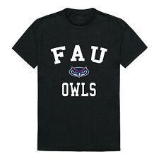 Florida Atlantic University Owls FAU NCAA College Cotton Graphic Black T Shirt
