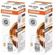2 Osram 64156 Truckstar H3 24V 70W LKW Glühlampe Glühbirne Lampe Iveco MAN Volvo