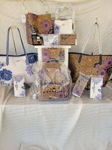 NEW Coach Kaffe bags and accessories: Choices: NEW Tote, Bucket Bag, Wallets...