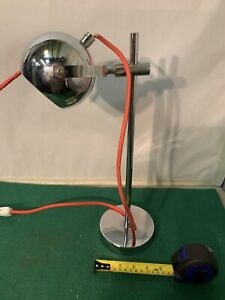 VINTAGE STYLE CHROME DESK LAMP