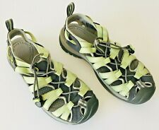 Keen Womens Whisper Performance Sandals Sz 6.5 Eu 37 Water Shoes Hiking Green