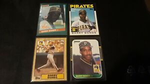 Lot of (146) Assorted BARRY BONDS Baseball Cards 20 ROOKIES!!! Pirates Giants