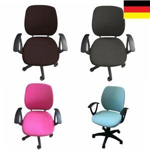 Elastischer Computer Bürostuhlbezug Office Stuhl Sitzbezug für Bürostühle