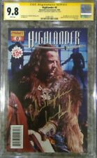 Highlander #0 photo cover__CGC 9.8 SS__Signed by Christopher Lambert