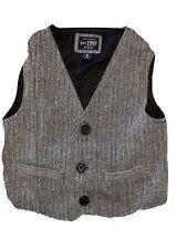 Children's Place Vest Boys Size 5 Tweed