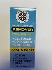 Gel Remover, Powder Dip or Nail Polish. Pack of 2